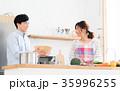新生活 夫婦 キッチンの写真 35996255