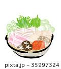 鍋 イラスト 35997324