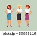 女 女の人 女性のイラスト 35998116