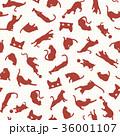 可愛いネコをパターンに 36001107