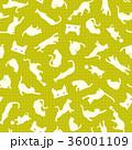 可愛いネコをパターンに 36001109