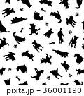 動物 犬 哺乳類のイラスト 36001190