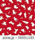 動物 犬 哺乳類のイラスト 36001193