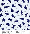 動物 犬 哺乳類のイラスト 36001198