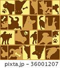 動物 犬 哺乳類のイラスト 36001207