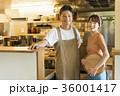 レストラン シェフとウェイター 36001417