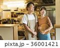 レストラン シェフとウェイター 36001421