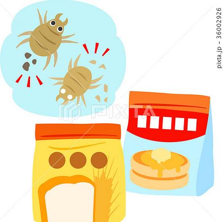 小麦粉やミックス粉とダニ 36002926