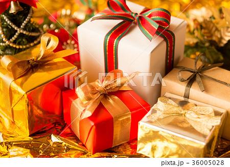 クリスマス プレゼント クリスマスツリー ギフト クリスマスカラー ゴールド クリスマスプレゼント 36005028