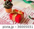 クリスマス プレゼント クリスマスツリー リボン ギフト クリスマスカラー 36005031