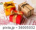 クリスマス プレゼント リボン ギフト クリスマスカラー 36005032