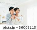 新婚 夫婦 笑顔の写真 36006115