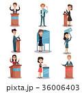 選挙 ベクタ ベクターのイラスト 36006403