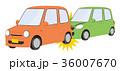 交通事故 追突 事故のイラスト 36007670