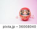 だるま(両目)と桜 36008040