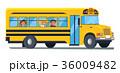バス スクール 学校のイラスト 36009482