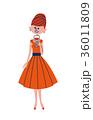 パーティドレスの女性 36011809