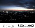 茨城県 夜景 夕暮れの写真 36011992