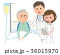 医師 患者 入院のイラスト 36015970