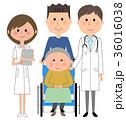 医師 男性 患者のイラスト 36016038