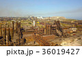 Aerial view of industrial steel plant. Aerial 36019427