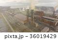 Aerial view of industrial steel plant. Aerial 36019429