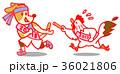 酉年から戌年へバトンタッチ 36021806