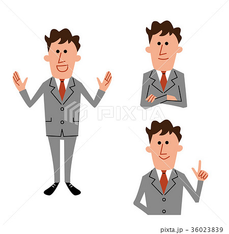ビジネスマン セット 36023839