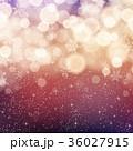 雪 雪の結晶 背景素材のイラスト 36027915