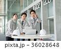 建設業 打ち合わせ 作業員 ビジネス イメージ 36028648