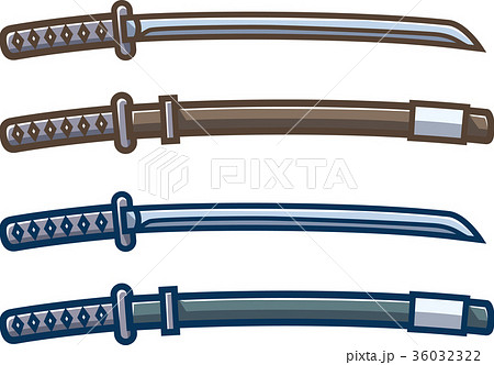 刀剣と鞘 36032322