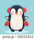 ぺんぎん ペンギン ベクタのイラスト 36032924