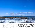 海 鳥居 青空の写真 36033870