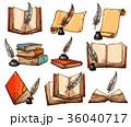 ブック スケッチ 写生のイラスト 36040717