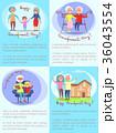 おばあさん おばあちゃん お婆さんのイラスト 36043554