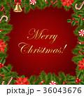 クリスマス デコレーション 装飾のイラスト 36043676