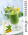 Spinach smoothie  with mint. 36044265