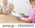 介護支援専門員による介護保険認定調査 ケアマネージャー クローズアップ 36045840