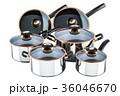鍋 ポット フライパンのイラスト 36046670