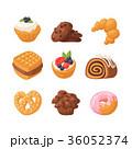 ベクトル クッキー ケーキのイラスト 36052374