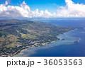 グアム島 飛行機から 36053563