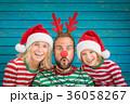 ファミリー 家庭 家族の写真 36058267