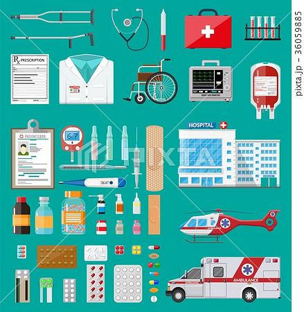 Big medical set 36059885