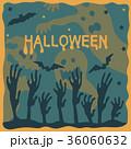 ベクター ハロウィン グリーティングカードのイラスト 36060632