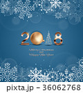 2018 クリスマス デコレーションのイラスト 36062768