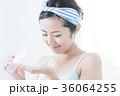 洗顔 クレンジング ビューティー 女性 スキンケア ビューティ 若い女性 美容 36064255
