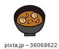 味噌汁 つみれ 和食のイラスト 36068622