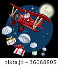 ベクトル 航空機 飛行機のイラスト 36068805
