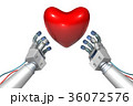 CG ロボット アームのイラスト 36072576