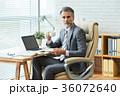 ビジネスマン 老人 シニアの写真 36072640